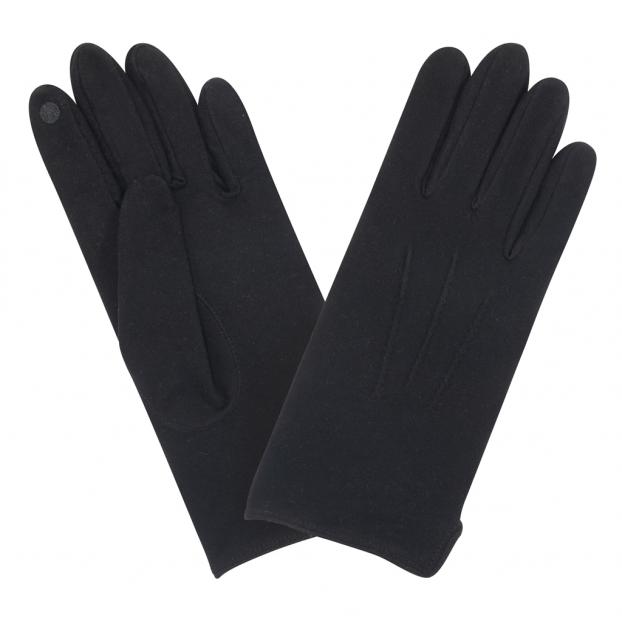 gant tactile silver clear anti-bactérien noir