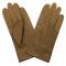 gant cuir cerf, 3 baguettes sur le dessus non doublé Cork